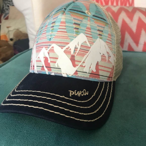 Pistil Accessories - Multicolored Pistil trucker hat